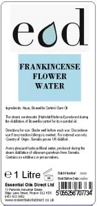 Large image of Frankincense Essential Oil Flower Water 1 Litre FRA1H