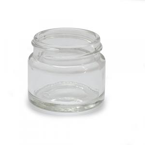 J15CG - 15ml Clear Glass Jar - Large
