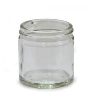 J60CG - 60ml Clear Glass Jar - Large