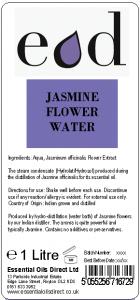 JASMINE FLOWER - HYDROLAT / HYDROSOL 1 Litre
