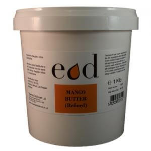 Large image of Mango Butter Refined 1 Kilo