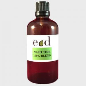 Large image of Night Time 100% Pure Essential Oil Blend 100ml