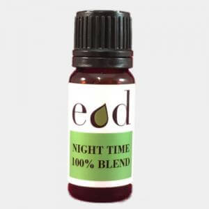 Large image of Night Time 100% Pure Essential Oil Blend 10ml
