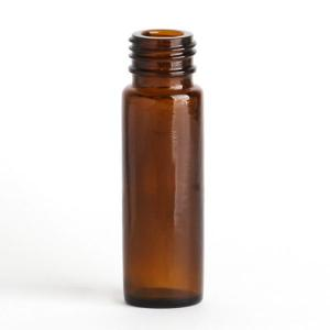 Big image of  Roll on bottle 10ml - Clear (Black Cap).