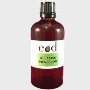 Large image of Relaxing 100% Pure Essential Oil Blend 100ml REL-B100