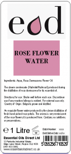 Large image of Rose Essential Oil Flower Water 1 Litre ROS1H