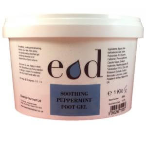 Large image of Soothing Peppermint Foot Gel 1 Kilo
