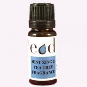 Large image of Mint Zing and Tea Tree Allergen Free Fragrance 10ml