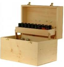 Big image of  Essential Oils Aromatherapy PRACTITIONER KIT - Set including 33 oils in wooden carrying case