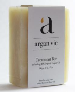 Big image of Argan Vie - Treatment Soap Bar - With 30.4% Argan Oil + Moroccan Rose Absolute