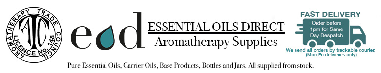 Essential Oils Direct - Aromatherapy Supplier UK - Desktop Logo