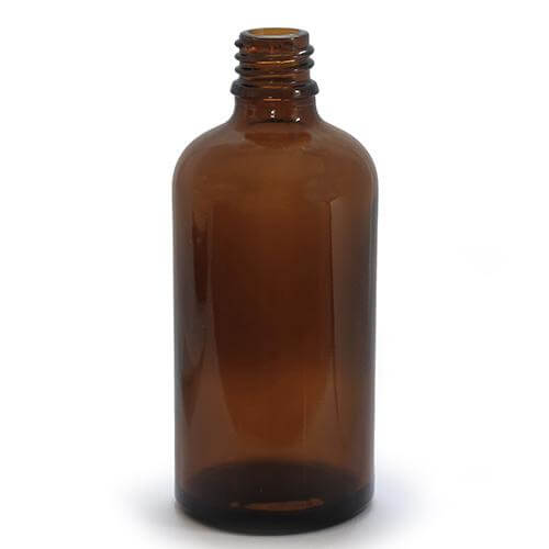 Essential Oils Direct 100ml Amber Glass Bottles With
