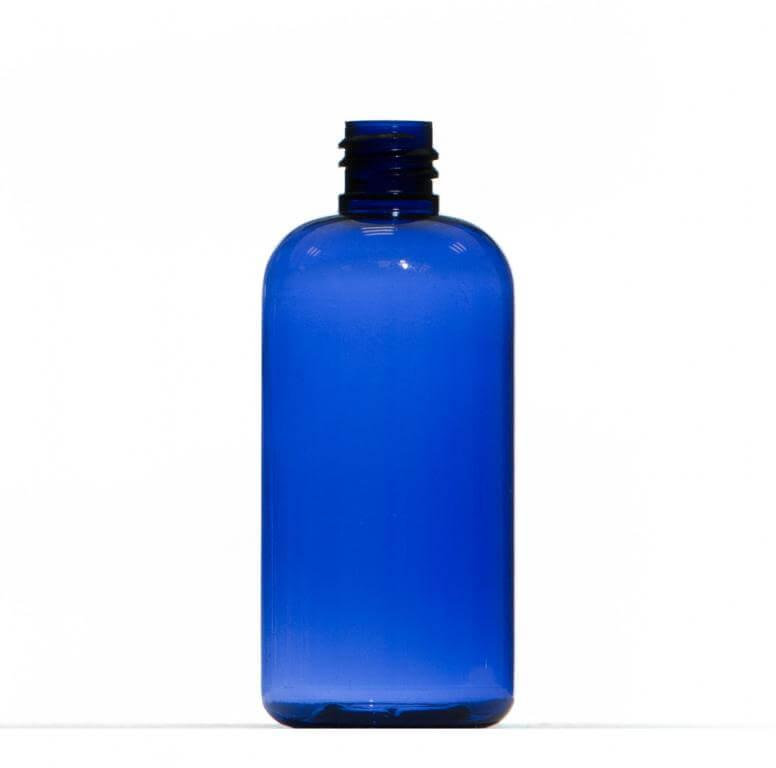 100ml Blue Petg Plastic Bottle
