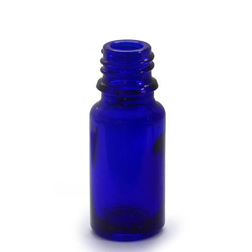 10ml Blue Glass Bottles With Caps Droppers And Pippettes