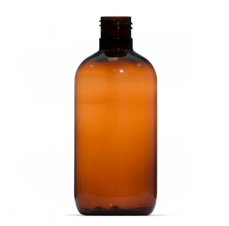 250ml Amber Pet Plastic Bottle