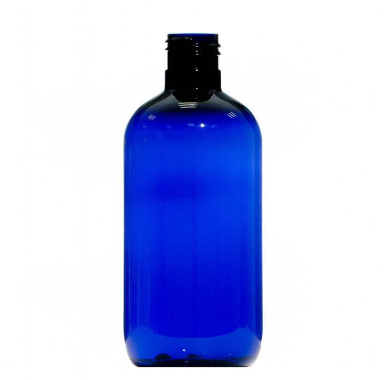 250ml Blue Pet Plastic Bottle