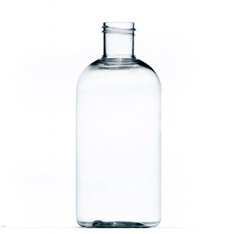 250ml Clear Pet Plastic Bottle