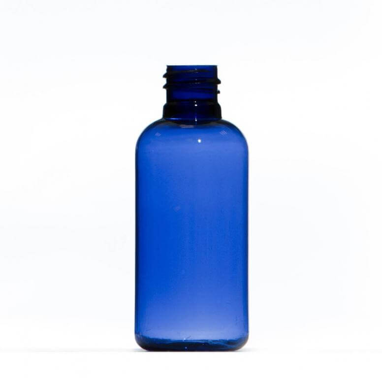 50ml Blue Petg Plastic Bottle