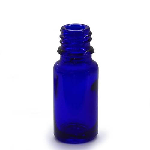 5ml Blue Glass Bottles With Caps And Droppers Suitable