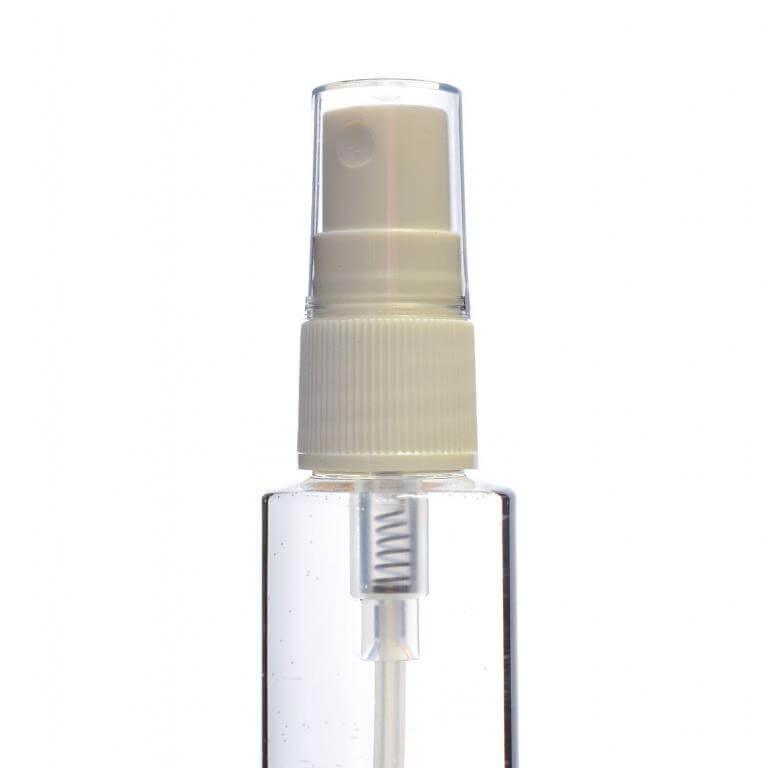 Mist Spray For 50 100ml Plastic Bottles White Bottle