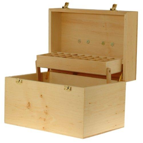 Practitioner Case 2 Tier Wooden Storage Box